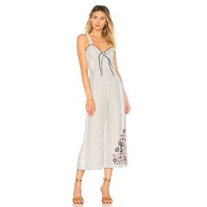 Revolve *House of Harlow 1960 embroidered jumpsuit